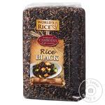 World's rice black long grain brown rice 500g