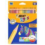 Набір олівців BIC 18 шт. Kids Evolution Stripes