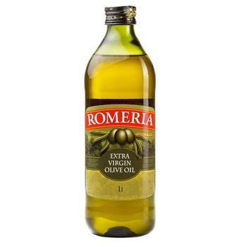 Масло оливковое Romeria нерафинированное первого холодного отжима 1л