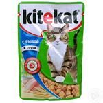 Food Kitekat salmon for cats 100g