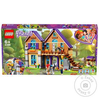 Скидка на Конструктор LEGO Friends Дом Мии 41369