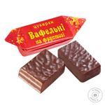 Конфеты Бисквит Шоколад Вафельные на фруктозе