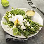 Asparagus Salad with Peas And Eggs