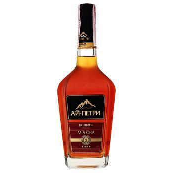 Ai-Petri 4 stars cognac 40% 0,5l