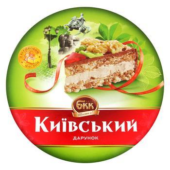 Торт БКК Киевский воздушно-арахисовый 1кг картонная коробка Украина - купить, цены на Восторг - фото 1