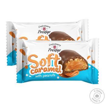 Цукерки Престиж Soft Caramel з арахісом