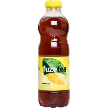 Напій Fuzetea Чорний чай зі смаком лимона негазований 1л - купити, ціни на Метро - фото 2