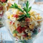 Італійський салат із макаронами