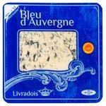 Сир Livradois Bleu d'Auvergne з блакитною пліснявою 50% 125г