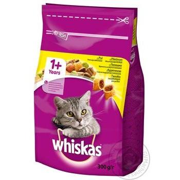 Корм сухой Whiskas для взрослых кошек с курицей 300г - купить, цены на Novus - фото 2