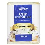 Сир плавлений Українська Зірка Вершковий 90г