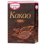Какао темное Dr.Oetker 100г