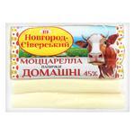 Сыр Новгород-Северский Моцарелла палочки вакуумная упаковка 45% 180г
