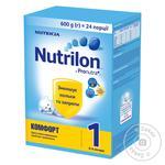 Смесь молочная Nutricia Nutrilon Комфорт 1 сухая с 0 до 6 месяцев 600г