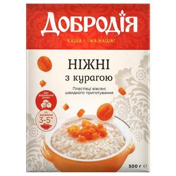 Super hercules with dried apricots oat flakes 500g - buy, prices for CityMarket - photo 1