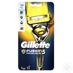 Бритвенный станок Gillette Fusion5 ProShield с технологией FlexBall + 1 сменная кассета