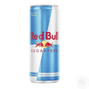 Напій енергетичний Red Bull без цукру 250мл - купити, ціни на Фуршет - фото 1