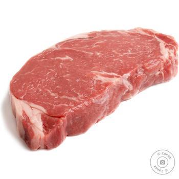 Стейк говяжий из бедра охлажденный - купить, цены на Novus - фото 1
