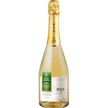 Вино игристое Bostavan Dor белое полусладкое 10,5% 0,75л