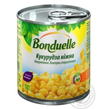 Bonduelle Soft Corn 170g - buy, prices for Novus - image 1