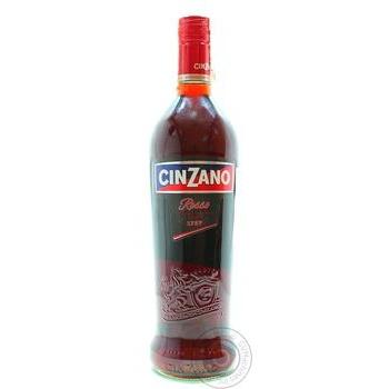 Вермут Cinzano Rosso красный десертный 15% 1л