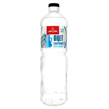 Оцет Akura спиртовий натуральний 9% 1л