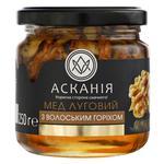 Мед Аскания Луговой с грецким орехом 250г