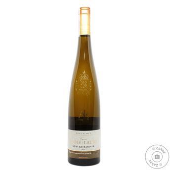 Arthur Metz Anne-Laure Cuvee Gewurztraminer White Semi-Sweet Wine 12.5% 0.75l