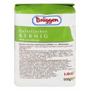 Хлопья овсяные Bruggen 500г - купить, цены на Ашан - фото 2