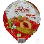 Десерт фруктовый Jolino Персик в малиновом желе 150г