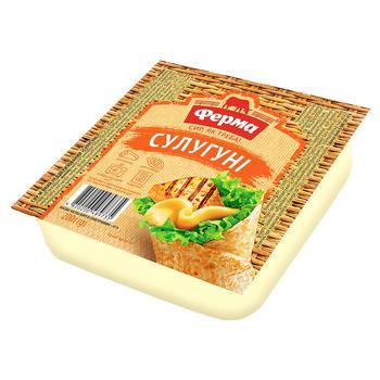 Ferma Suluguni Cheese 45% 200g - buy, prices for Auchan - photo 2