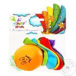 Party House Air Balloon 7pc