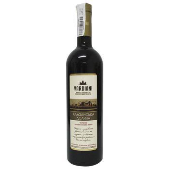 Vardiani Alazan Valley Red Semi-Sweet Wine 9-13% 0,75l - buy, prices for CityMarket - photo 2