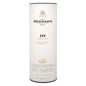 Портвейн Grahams красное 20% 10лет 0.75л