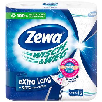Полотенца кухонные Zewa Wisch&Weg бумажные 86лист 2рул