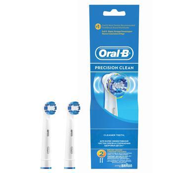 Насадки для електричної зубної щітки Пресішн клін Орал-Бі 2шт