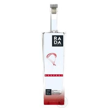 Rada Premium Respect Vodka 0.7l