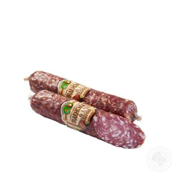 Ковбаса Укрпромпостач-95 Віденська сиров'ялена вищий сорт - купити, ціни на Фуршет - фото 1