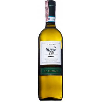 Вино Le Rubinie Soave DOC белое сухое 11,5% 0,75л