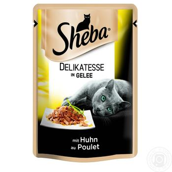 Sheba Delikatesse In Jelly With Chicken Cats Food 85g - buy, prices for Furshet - image 2