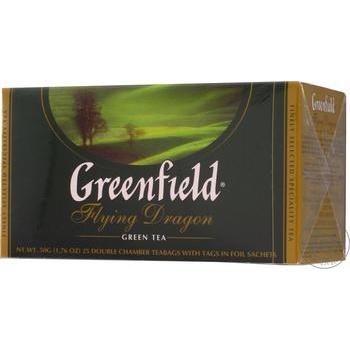 Чай зеленый Greenfield Flying Dragon 25шт 2г