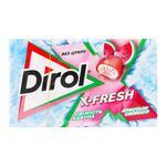 Жевательная резинка Dirol X-fresh свежесть арбуза 18г
