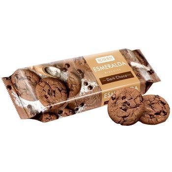 Печенье Рошен Эсмеральда сдобное какао-глазурь 150г - купить, цены на ЕКО Маркет - фото 1