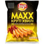 Чипсы картофельные Lay's Max со вкусом куриных крылышек 62г