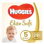 Huggies Elite Soft Diapers 5 12-22kg 28pcs