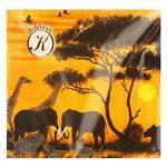 Салфетки Katarina цветные трехслойные 33х33см 20шт - купить, цены на Восторг - фото 1