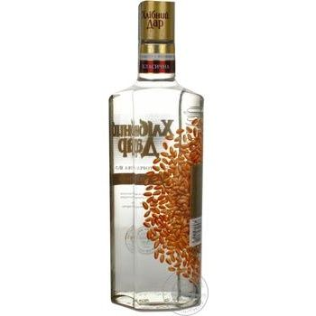 Khlibnyy Dar Classic Vodka  40% 0,5l - buy, prices for Novus - image 2