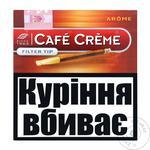 Сигары Cafe Creme Filter Tip Arome 10шт