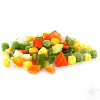 Смесь овощная Мексиканская замороженная - купить, цены на Ашан - фото 1