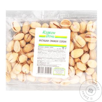 Kozhen Den Roasted Salted Pistachios, 1 Bag - buy, prices for Auchan - photo 1